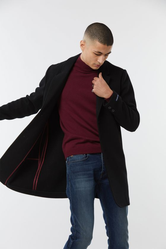 Manteau FROMBE Pure Noir
