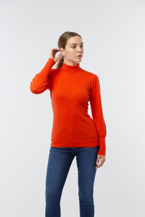 Pull CAROME Rouille