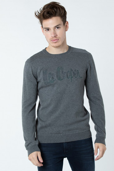 Pull Clogo 3105 Gris Chiné