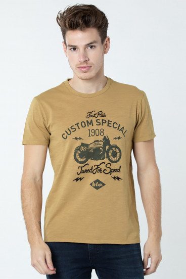 T-Shirt Arros 3124 Laiton