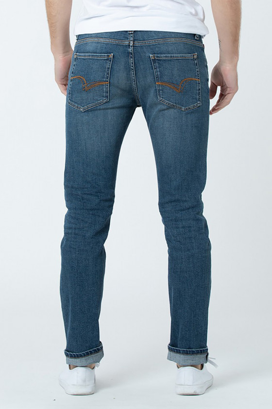 Jean LC122 8408 Navy Brushed