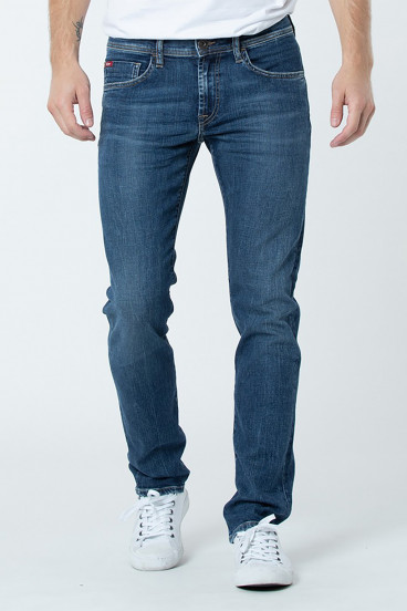 Jean LC128 8422 Medium Blue Brushed