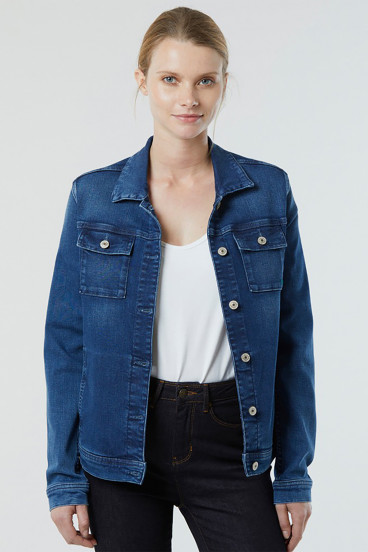 Veste FREEN 8538 ECO Medium Blue Washed