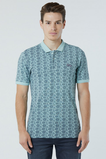 Polo BOWER 4458 Mint/Noir