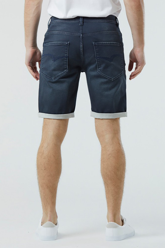 Short NANOT 8540 Dark Blue Brushed