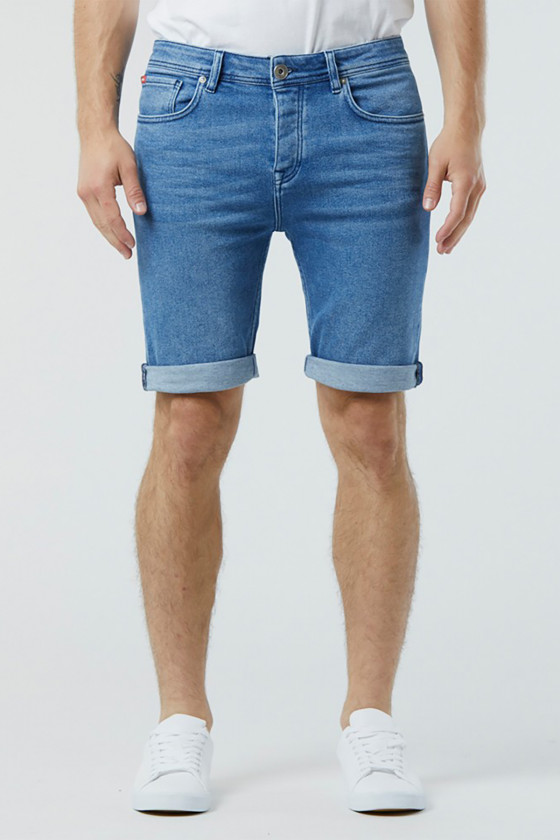 Short NEANS 8502 Vintage Blue Brushed