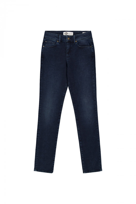 Jean LC135 Blue Brown Brushed