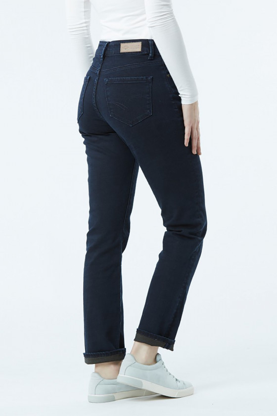 Jean LC161 Blue Brown