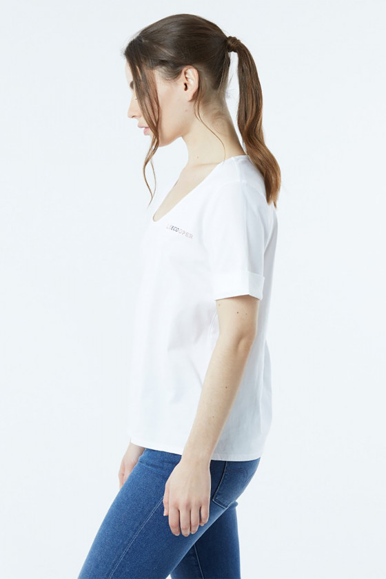 T-shirt AECO Off White