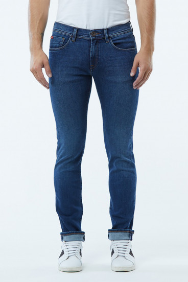 Jean LC128 Medium Ocean Lightbrushed