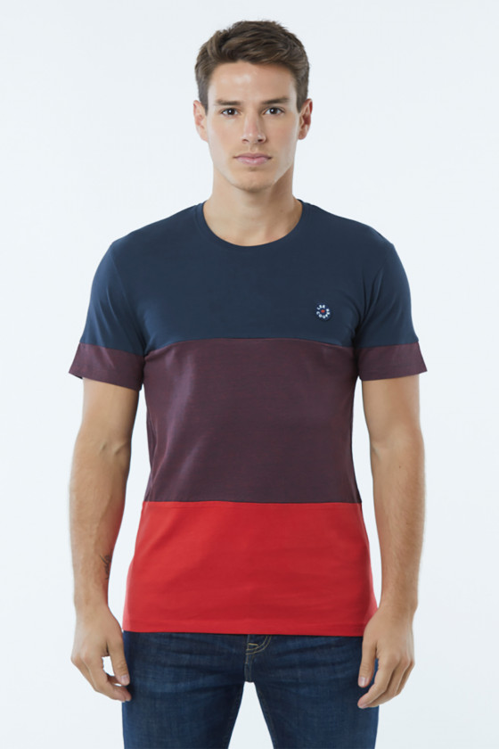 T-shirt ARPIO Navy / Red