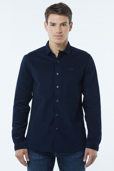 Surchemise velours DROTY Navy