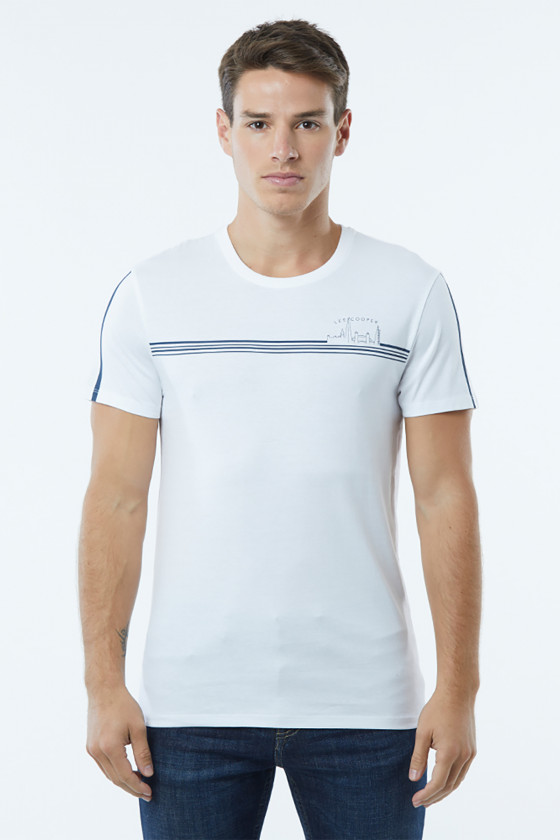 T-shirt ACOOP White