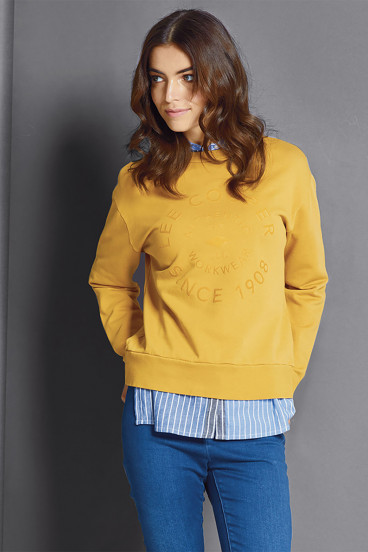 Sweatshirt ENORA Gold