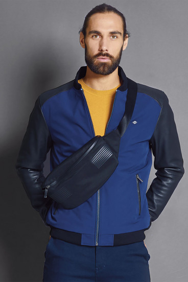 Veste NELSON Blue Black