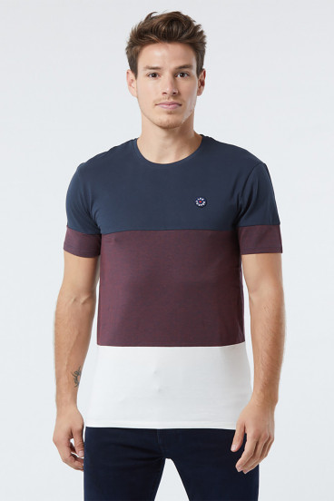 T-shirt ARPIO Navy / Off White