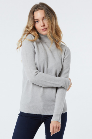 Pull CIDJI Grey Melanged