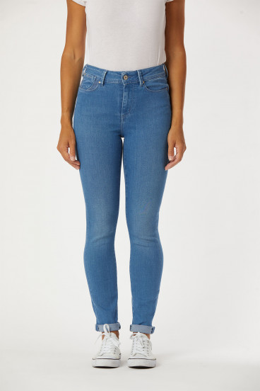 Jeans JANA Petrol Blue Brushed