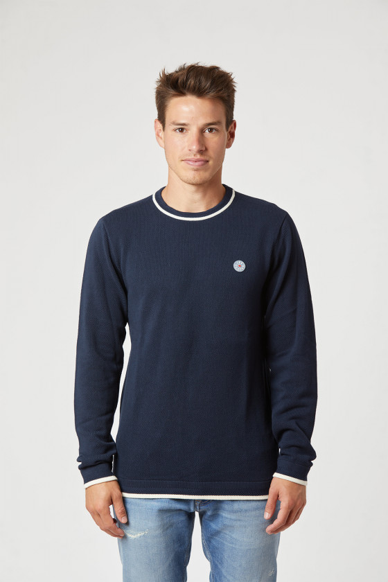 Sweater CETAK Navy