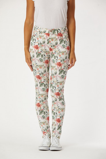 Pantalon LC113 Flower Rinsed