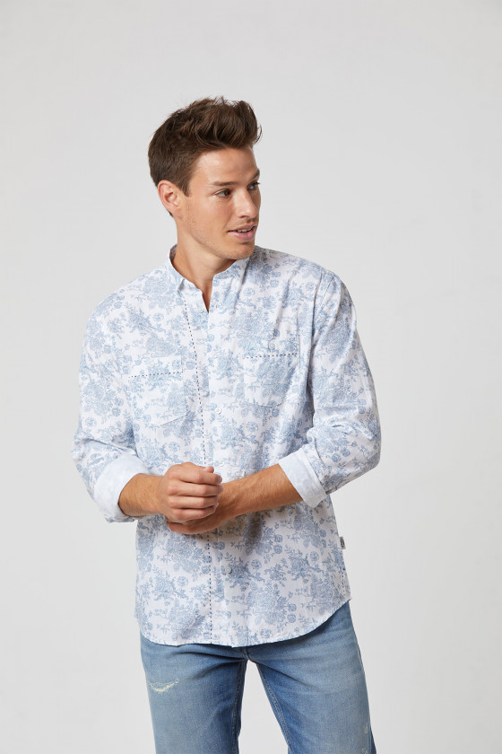 Chemise DITHER White